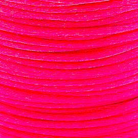 2 meter Macrame Satijndraad 1.0 mm Hot Pink
