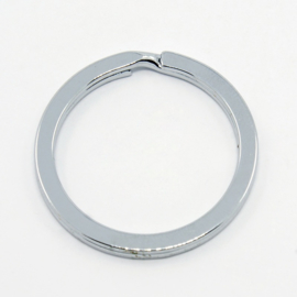 2 x  Sleutelhanger ring 30 x 2mm