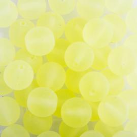 Gütermann glasparels mat 6mm c.a. 96 stuks geel