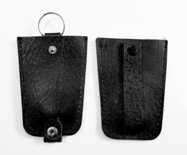 Sleutel etui - faux leder kleur zwart model B