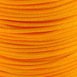 2 meter Macrame Satijndraad 1.0 Amber Orange