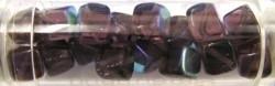 Gutermann kubus 8mm amethyst AB ca 16st