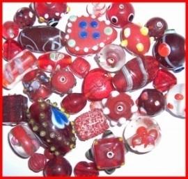Luxe glaskralen starters pakket 500 gram Kies voor pakketpost