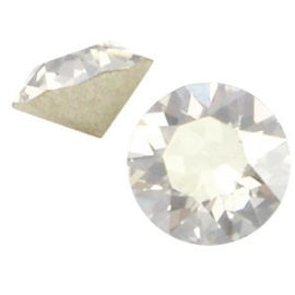 2 x Swarovski Elements SS24 puntsteen (5.2mm) Crystal silver shade