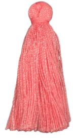 3x Kwastjes Zalm Roze 30 mm