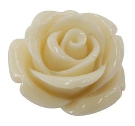 10 x roosjes van Resin synthetisch koraal 11 x 11 x 8mm Gat: 0,5mm Yvoor