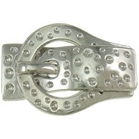 Schitterende magneetsluiting voor leren platte bandjes - veters Ø 10mm