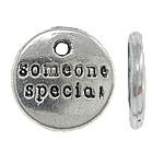 4 x someone special bedeltje 10 x 2mm Gat: 1,5mm