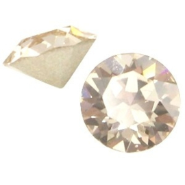 2 x Swarovski Elements PP32 puntsteen (4.0mm) Light silk beige