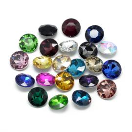 Puntsteentjes kristal diverse vormen