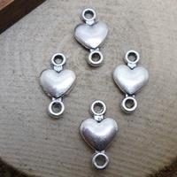 5 stuks tussenzetsel link connector hart 8 x 15mm oogje: 2mm