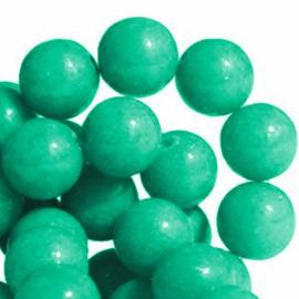 10 x Natuursteen Jade Rond 8 mm Emerald Groen