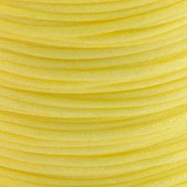 2 meter Macrame Satijndraad 1.0 Lemon Yellow