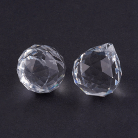 Per stuk prachtige kristal suncatcher druppel 20 x 23mm