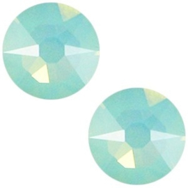 2 x  Swarovski Elements 2088-SS34 flatback Xirius Rose Pacific opal ca 7 mm (SS34)