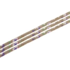 20 cm Trendy gestikt koord 7 x 6mm zand