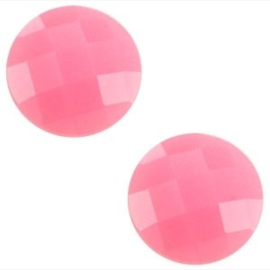 2 x Basic cabochon 10mm Pink opal