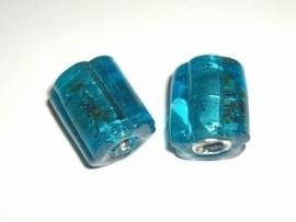 1 x SF glaskraal bloemvormige cylinder