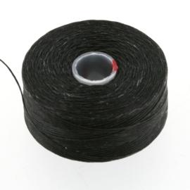 C-LON Rijggaren D ca. 70 meter 0,16mm zwart