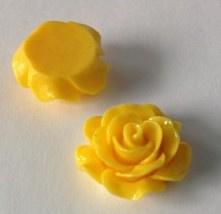 Plakroosje plakvlak 16 mm mais geel