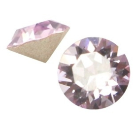 2 x Swarovski Elements SS24 puntsteen (5.2mm) Violet