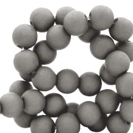Acryl kralen mat rond 4mm
