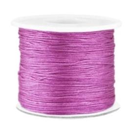 per 2 meter Macramé draad 0.7mm Violet purple