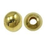 20 stuks tibetaans zilveren tussenzetsel kraal 8 x 6mm gat: 3mm goudkleur