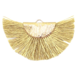 Kwastjes hanger Gold-yellow gold