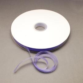 1 meter Organza lint 10mm breed per meter, leuk voor zeepkettingen!! Lila
