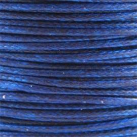 2 meter Waxkoord 1.0 mm Hollands Blauw