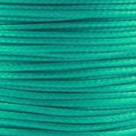 2 meter Waxkoord 1.0 mm Turquoise Groen Blauw