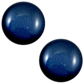 1 x 12 mm classic cabochon Super Polaris Radiant blue