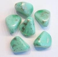 Per stuk Glaskraal marmer groen grillig gevormd 12 mm
