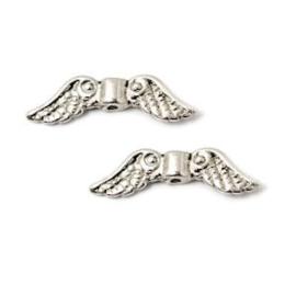 Metalen kralen engelen vleugels en vlinders
