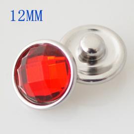 Drukker Crystal red- 12 mm click