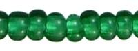 Zakje mooie rocailles 20 gram Seed Beads 8/0 3mm donker groen