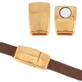 1 x DQ metaal magneetslot Ø5.1x2.2mm Rosé goud