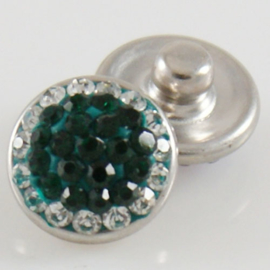 Drukker Rhinestone green and white