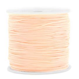 Rol met 90 meter Macramé draad 0.8mm Light peach (kies voor pakketpost)