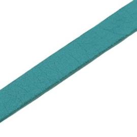 17 cm DQ leer plat 10mm Deep blue zircon
