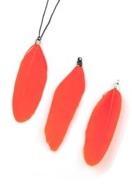 3 x Hangers veer 70-80x12-20mm oranje