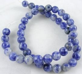 10 x  Kraal van Natural Blue Spot Stone CornflowerBlue, 12mm