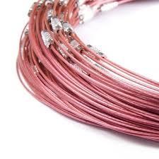 Spang lengte 46cm oud roze