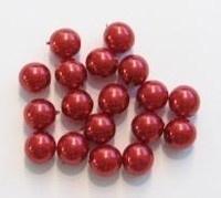 30 x Glasparel Bordeaux rood 8 mm