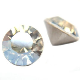 15 acryl strass punt steentjes clear  SS16 4mm