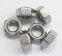 Per stuk metalen european style kraal moer 10 mm