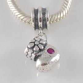 Kerstsok2 925 sterling zilver