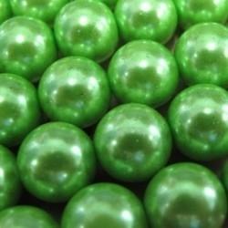 20 keer prachtige glasparel green 12 mm