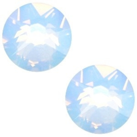 2 x Swarovski Elements 2088-SS34 flatback Xirius Rose Air blue opal ca 7 mm (SS34)